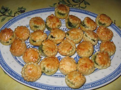 G teau ap ritif aux escargots la cuisine de j r me recettes de cuisine cours de cuisine - Amuse bouche a preparer d avance ...